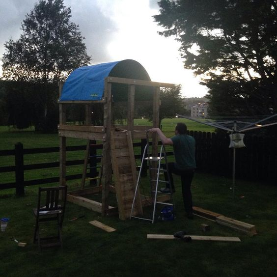 Jungle Gym around the world 🌍  best dad in the world, constructing a Jungle Gym on a saturday night