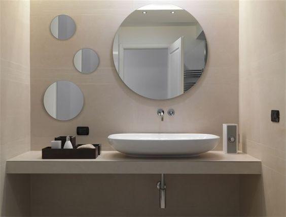 Bagno specchio tondo cerca con google specchi bagno - Specchio rotondo bagno ...