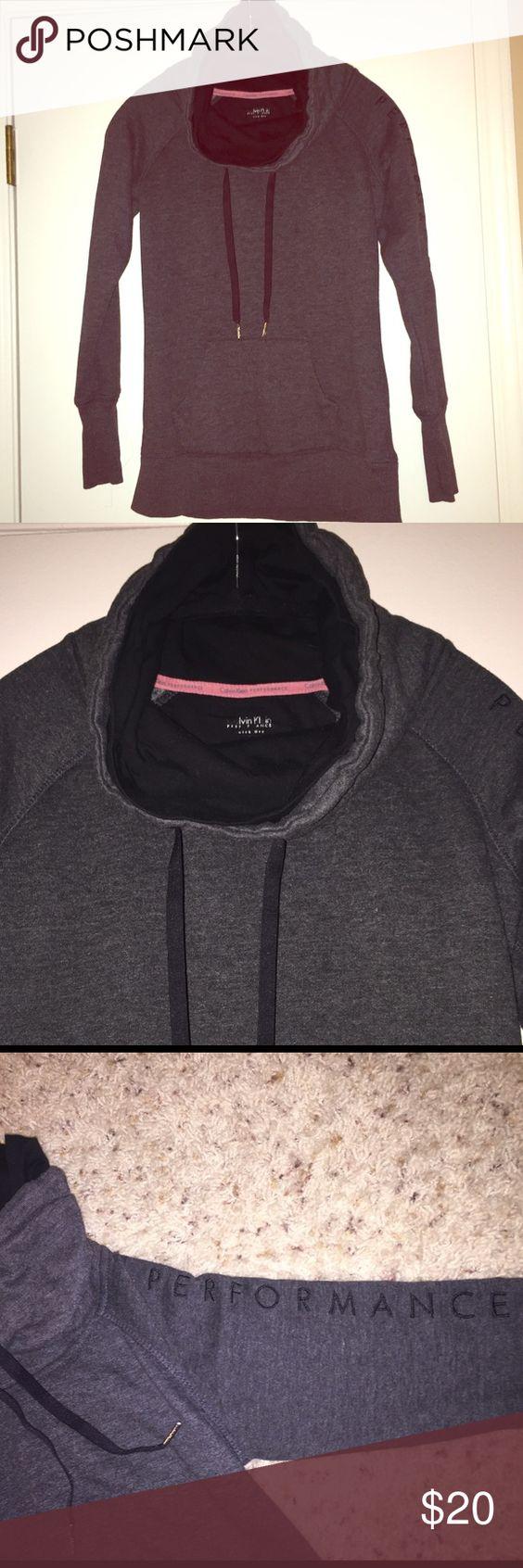 Clavin Klein performance sweatshirt Turtleneck sweatshirt Calvin Klein Tops Sweatshirts & Hoodies