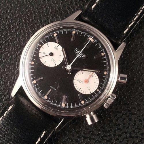 ebay : Heuer panda dial chronograph