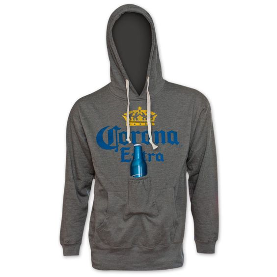 City Corona Extra All Beer Pouch Hoodie