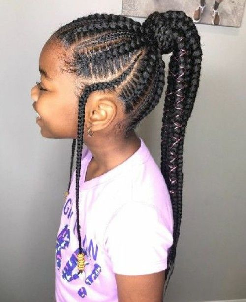 Little Black Girls 40 Braided Hairstyles With Images Natural