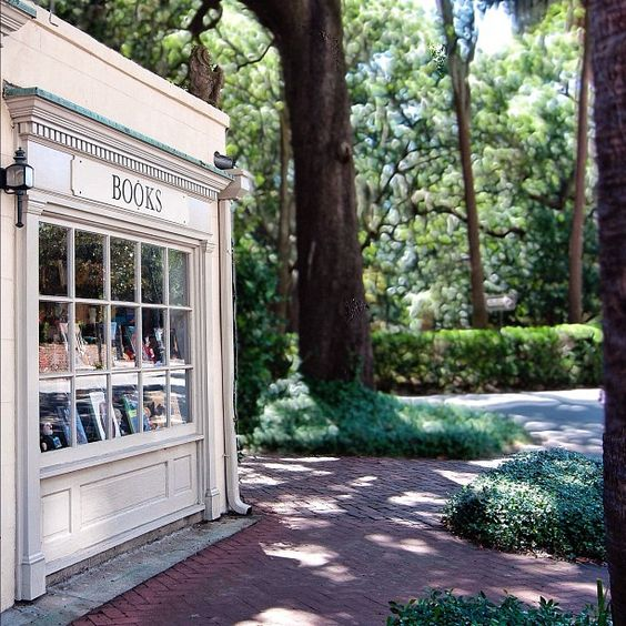 Locally owned bookstore, E. Shaver is full of delightful books and more! #Savannah