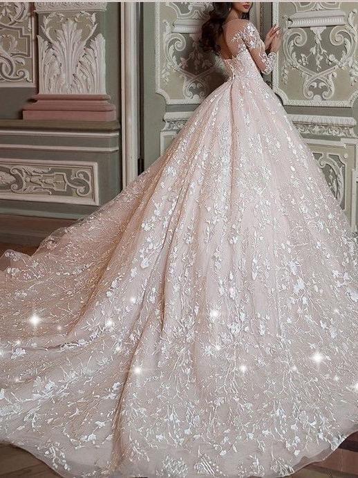 Long Sleeve Vintage Wedding Dresses Vintage Ball Gown Wedding Dress Awd1119 Vintage Ball Gown Wedding Dresses Lace Wedding Dress Vintage Wedding Dress Sleeves