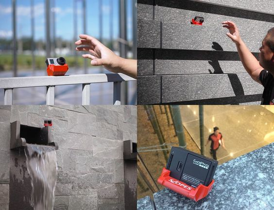 Thanks to its 3-in-1 slot and #polyhedron bottom, SLOPES provides 20 different ways to position #GoPro #camera with unrivaled positioning speed
