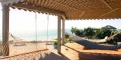 Casa Hermosa has a 3 hammock, covered gazebo for your relaxation while on vacation in the Caribbean