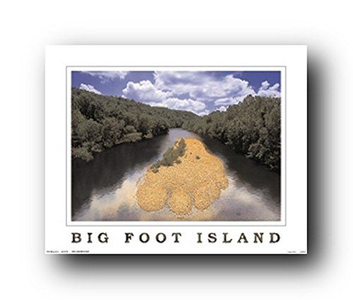 Classy and attractive in all aspects! Lend an interesting twist to your dull living room interior with this beautiful Bigfoot island landscape wall art print poster. This wonderful wall art will be a wonderful gift for those who may inspired by the tranquility of nature. It will be a perfect addition to your home and bring character to your entryway, living room or bedroom in an unexpected way. Hurry up! Grab this beautiful wall poster.
