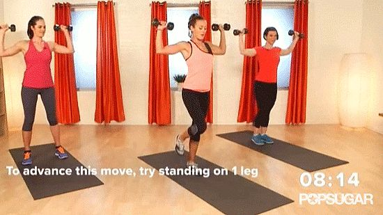 Time For a Quickie? Your New Favorite 6-Minute Arm Workout: Whether you're waiting for the coffee to brew, catching a few TV commercials, or have a couple minutes before bed, you can squeeze in this six-minute workout!