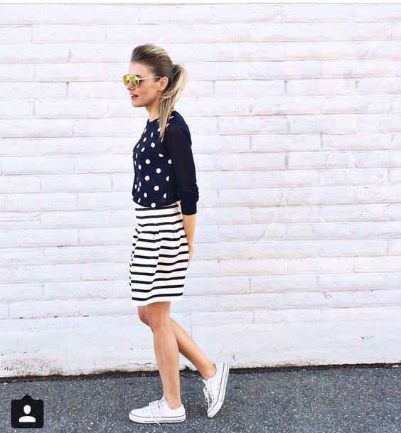 Polka & stripes