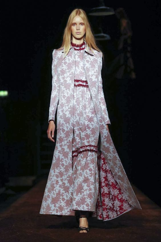 Erdem Ready To Wear Spring Summer 2016 London - NOWFASHION: