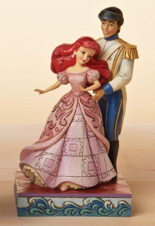 Ariel & Eric: Mermaid Cake, Jim Shore, Disney Collection, Disney Figurines, Disney Princesses, Little Mermaid, Disney Traditions, Shore Figurines