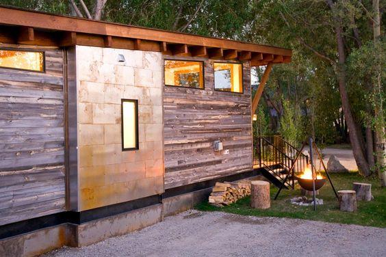 The WheelHaus Wedge cabin