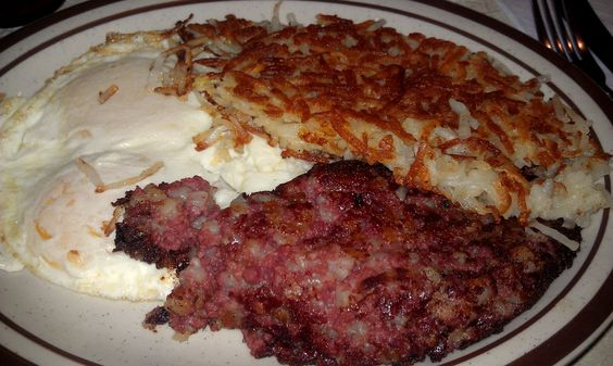 hash and eggs | Jersey food | Pinterest | Beef Hash, Corned Beef Hash ...