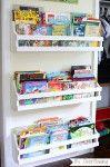 DIY Bookshelves for the Wall