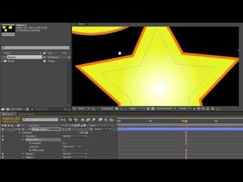 ▶ AE Basics 21: Shape Layers Part 5 - Offset Paths - YouTube