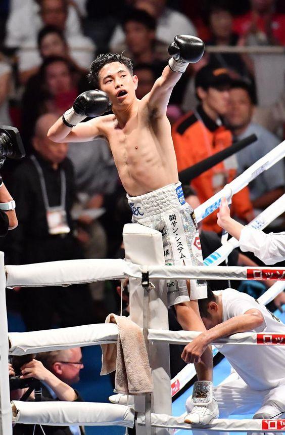 世界チャンピオン!井岡一翔のかっこいい高画質な画像