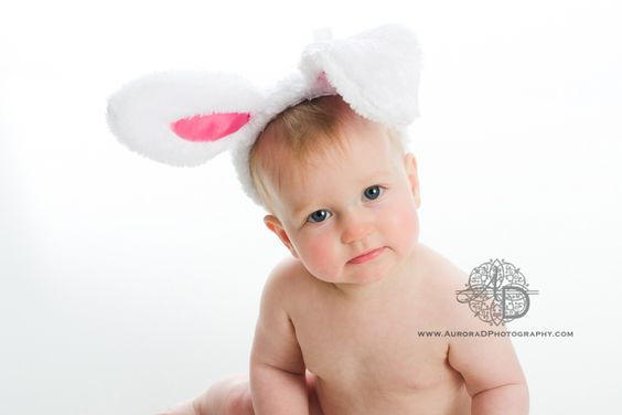 Easter Bunny!  By Aurora D Photography