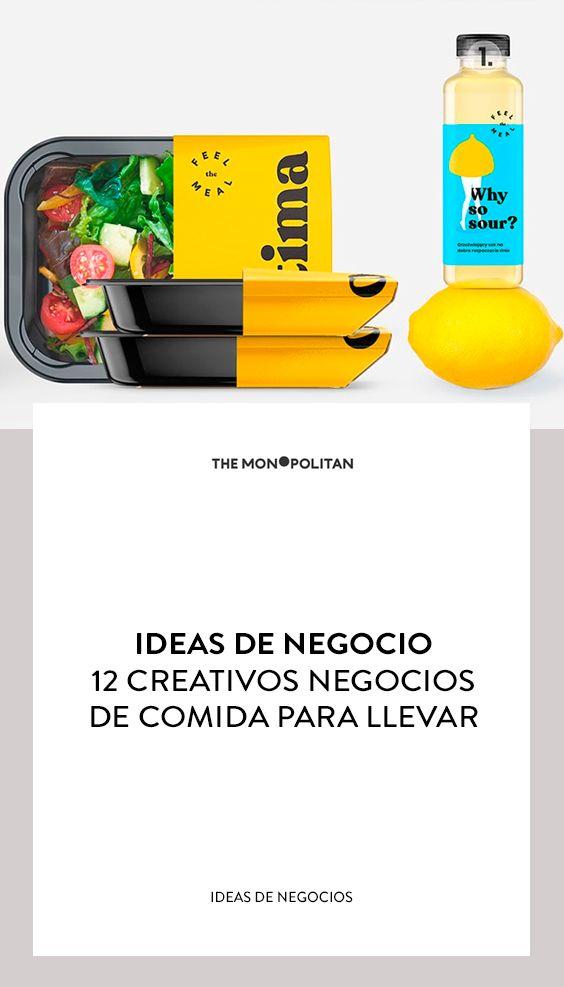 Ideas De Negocio 12 Creativos Negocios De Comida Para Llevar Comida Para Llevar Negocios De Comida Comida Para Llevar Negocio