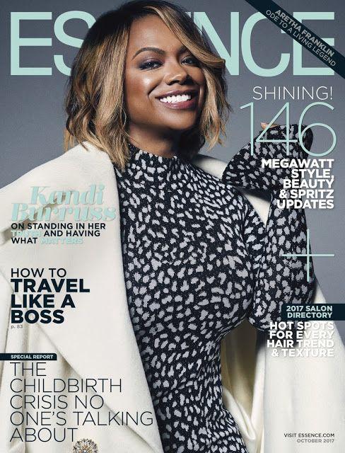 Kandi Burruss on the October 2017 Cover of Essence Magazine