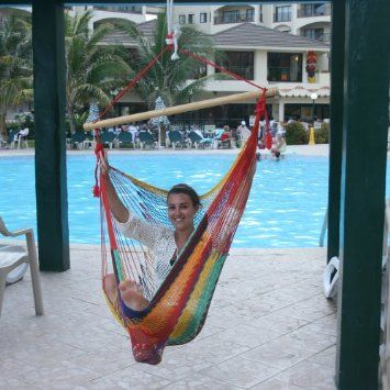 Amazon.com: Chair Hammock MULTICOLOR by Hammocks Rada TM - Fall Promotion - Limited Time: Patio, Lawn & Garden  #hammock #chair #relax  #hammock #chair #relax #lounge #poollounger #pools #relax #poolside #yardrest