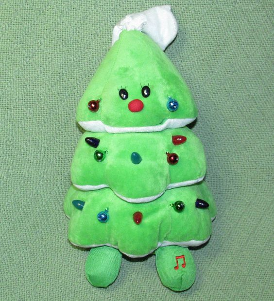 Musicals, Plush and Christmas trees on Pinterest