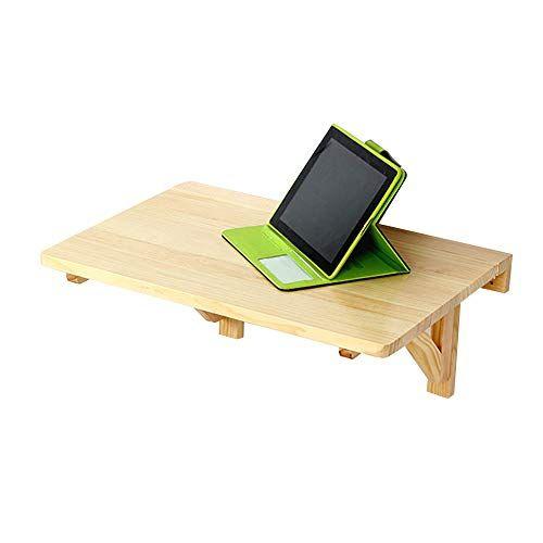 Virod Home Office Desks Solid Wood Wall Mount Drop Leaf Table