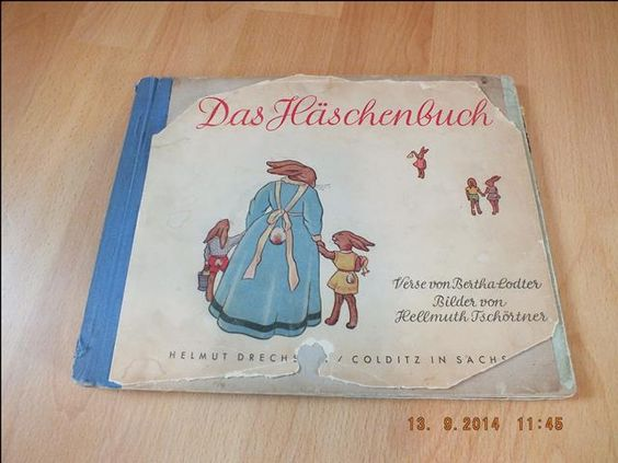 ★ eines der ALLER ERSTEN Original DDR Kinderbücher ★ Das Häschenbuch ★ 1947 ★ in Antiquitäten & Kunst, Antiquarische Bücher, Kinder- & Jugendbuch, Märchen & Sagen   eBay