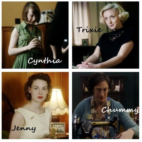 Best characters on TV right now - I'm obsessed with Call The Midwife!
