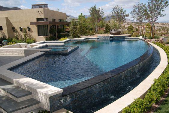 Water Overflow Pool