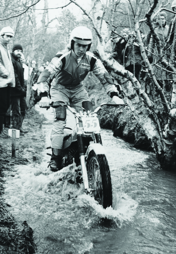 1977: Malcolm Rathmell in Belstaff for Scottish Six Days ...