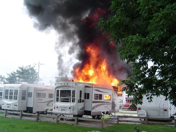 Overlooking Fire Safety in Your RV is a Recipe for Disaster. Follow these simple steps below to make sure your RV is ready to keep your family safe this camping season.