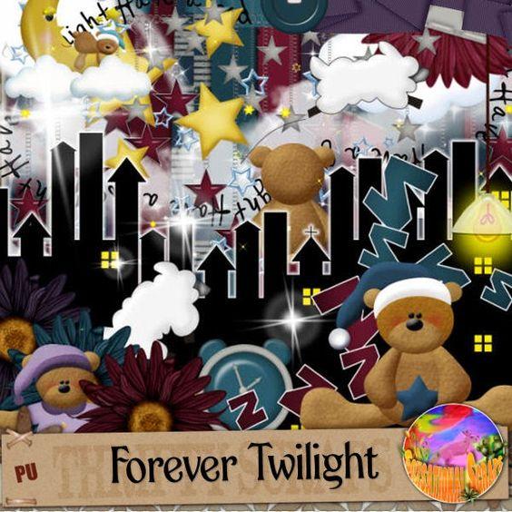Soxsational Scraps: Forever Twilight Was PTU Now FREE!!!