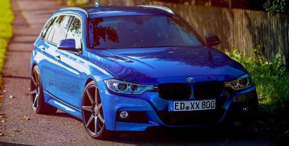 BMW Serie 3 Touring on VVS-CV7
