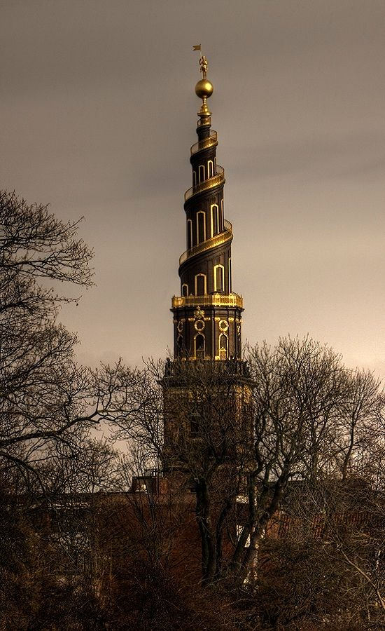 The bell tower of the Church of Our Saviour, Copenhagen, Denmark | by Markus Hoffmann (HalleSaale):