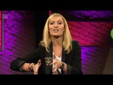 Monika Gruber Grunwald Freitags Comedy 20 01 2012 Youtube Comedy Try Again