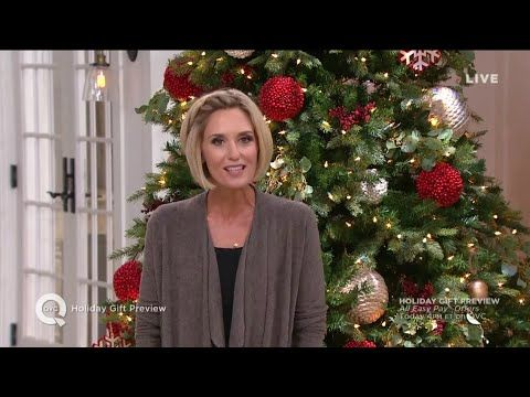 Holiday Gift Preview On Qvc With Host September 30 2018 Youtube Holiday Gifts Qvc Youtube