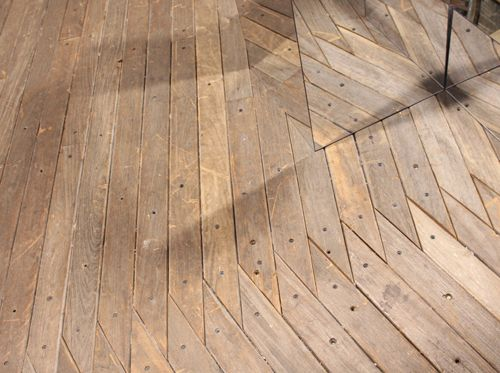 Interesting floor pattern