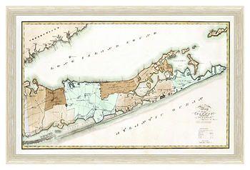 Long Island Map Harbor Hideaway | One Kings Lane