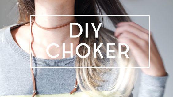 DIY COMO FAZER CHOKERS INCRÍVEIS | Luana Viergutz Aprenda a fazer 3 modelos de gargantilha para usar e arrasar nesse inverno!