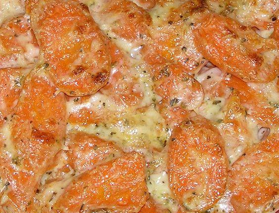 Carrots au gratin. Yes, please.
