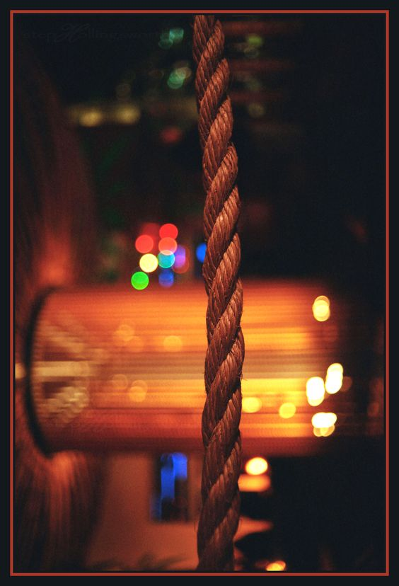Boring rope, I'll take a pic of anything for bokeh, lol.