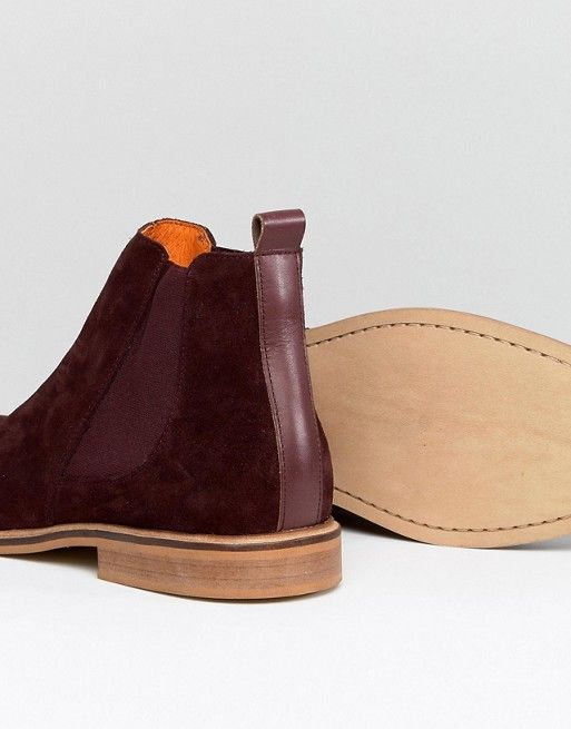Burgundy Suede | Boots