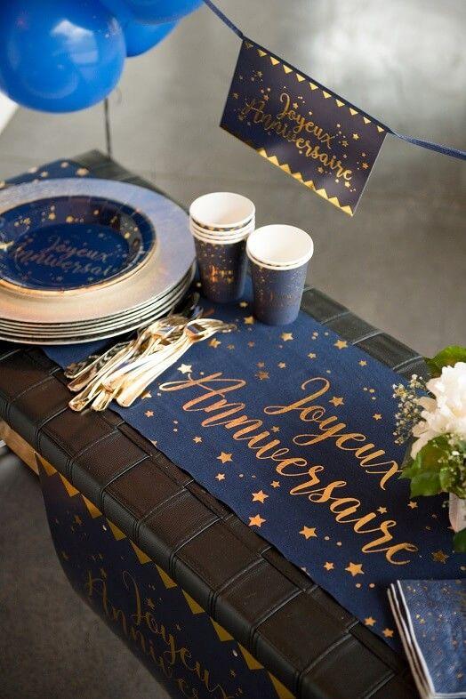 Decoration Table Anniversaire 50 Ans Homme