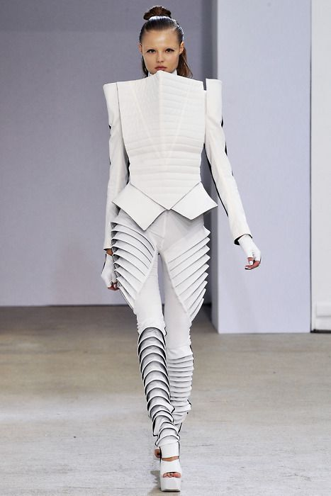 #fashion #women #trend #style #inspiration #future #space #robot #metal
