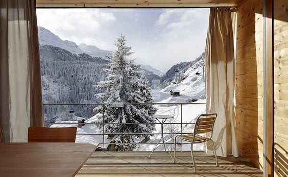 Peter Zumthor's Unterhaus in Vals