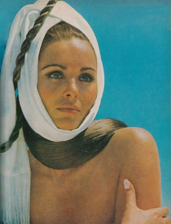 Daliah Lavi, 1969 in Vogue, by John Cowan: