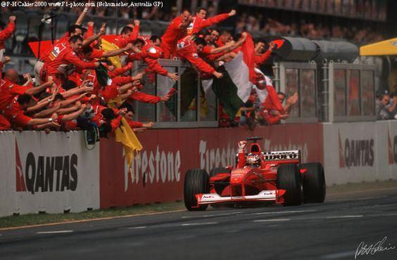 Michael Schumacher Melbourne GP Australia 2000