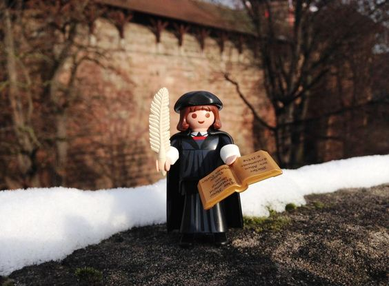 #MartinLuther #Playmobil