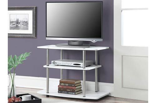 Top 10 Best Clear Glass Tv Stands For Home Use Reviews In 2020 White Tv Stands Glass Tv Stand 3 Tier Tv Stand Glass tv stands for flat screens