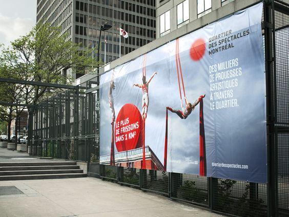 Quartier des spectacles   Campagne intégrée / Integrated Campaign   Affichage / Out-of-home  lg2boutique